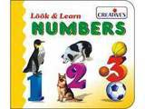 Creative's Look & Learn Board Book - Number