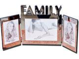 Family Photo Frame in Metal