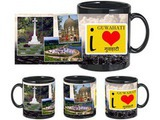 I Love Guwahati Black Mug