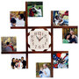 8 Photo Wall Clock - image
