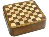 """Travel Chess with Drawer, 5"""""""